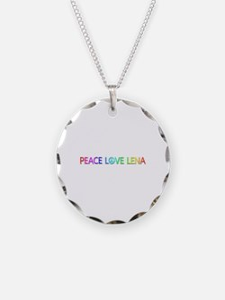 Peace Love Lena Necklace