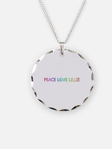 Peace Love Lillie Necklace