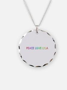 Peace Love Lyla Necklace