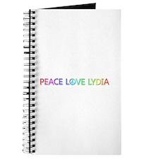 Peace Love Lydia Journal