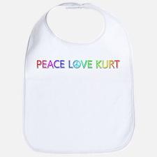Peace Love Kurt Bib