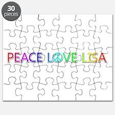 Peace Love Lisa Puzzle