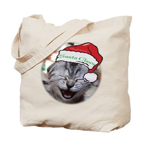Santa Claws Tote Bag