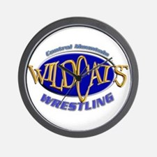 Central Mountain Wrestling 3 Wall Clock