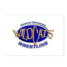 Central Mountain Wrestling 3 Postcards (Package of