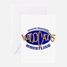 Central Mountain Wrestling 3 Greeting Card