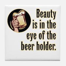 Beer & Beauty - Tile Coaster