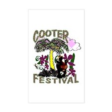 Cooter Festival Rectangle Decal