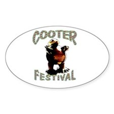 Cooter Festival Oval Decal