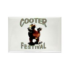 Cooter Festival Rectangle Magnet
