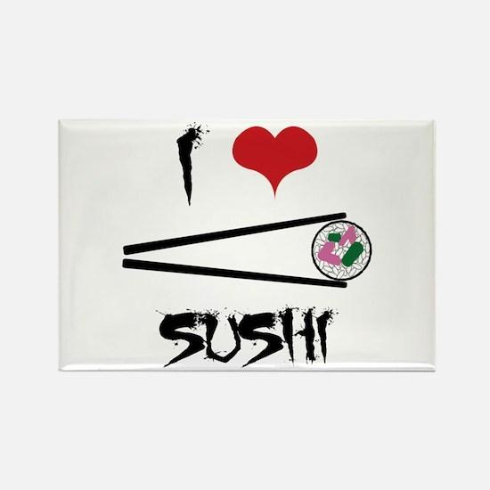 I Love Sushi Magnets