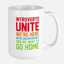 INTROVERTS UNITE! WE'RE HERE, WE'RE UNCOMFORTABLE
