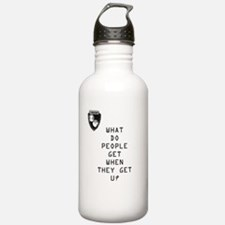 Cute That%27s what people do Water Bottle