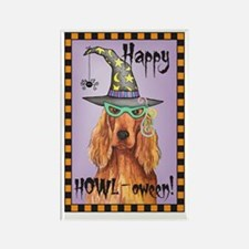 Halloween Irish Setter Rectangle Magnet