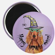 Halloween Irish Setter Magnet