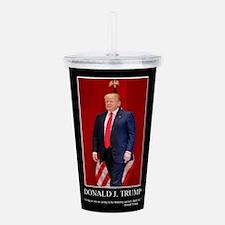Donald Trump, Think Bi Acrylic Double-wall Tumbler