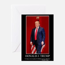 Donald Trump, Think Big Greeting Card