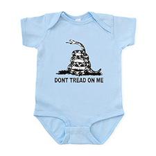 Unique Dont tread me Infant Bodysuit
