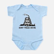 Cute Dont tread on me Infant Bodysuit