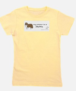 Funny Rescue a pet Girl's Tee