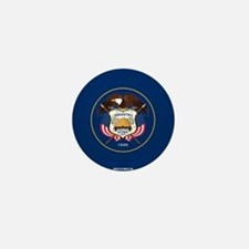 Utah State Flag Mini Button