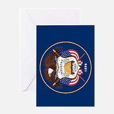 Utah State Flag Greeting Card