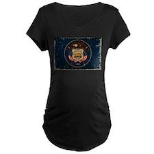Utah State Flag VINTAGE Maternity T-Shirt