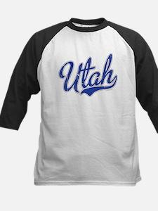 Utah State Script Font Vintage Baseball Jersey