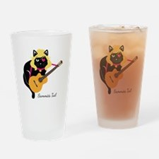 Unique Cartoon drums Drinking Glass