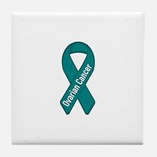 Ovarian Cancer Tile Coaster