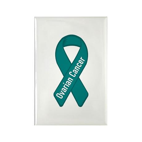 Ovarian Cancer Rectangle Magnet (100 pack)