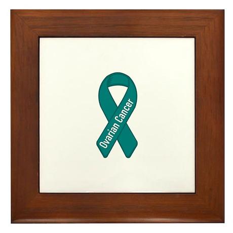Ovarian Cancer Framed Tile