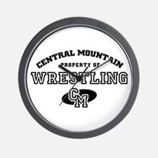 Central Mountain Wrestling 4 Wall Clock