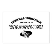 Central Mountain Wrestling 4 Postcards (Package of