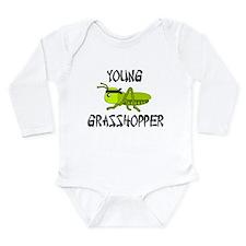 Funny Ninja Long Sleeve Infant Bodysuit
