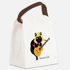 Cute Sammy Canvas Lunch Bag