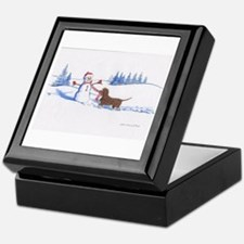 IWS and Snowman #6 Keepsake Box