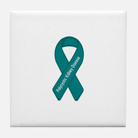 Polycystic Kidney Disease Tile Coaster
