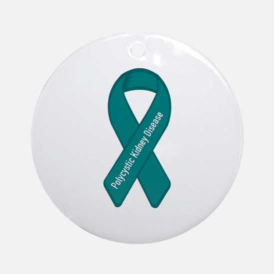 Polycystic Kidney Disease Ornament (Round)