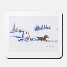 IWS and Snowman #8 Mousepad