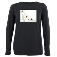 Pets Plus Size Long Sleeve Tee