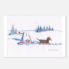 IWS and Snowman #8 Postcards (Package of 8)