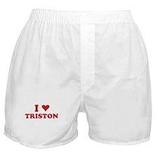I LOVE TRISTON Boxer Shorts