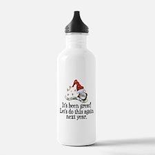 New Years Water Bottle