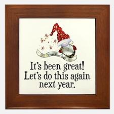 New Years Framed Tile
