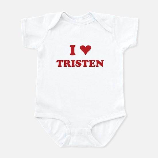 I LOVE TRISTEN Infant Bodysuit
