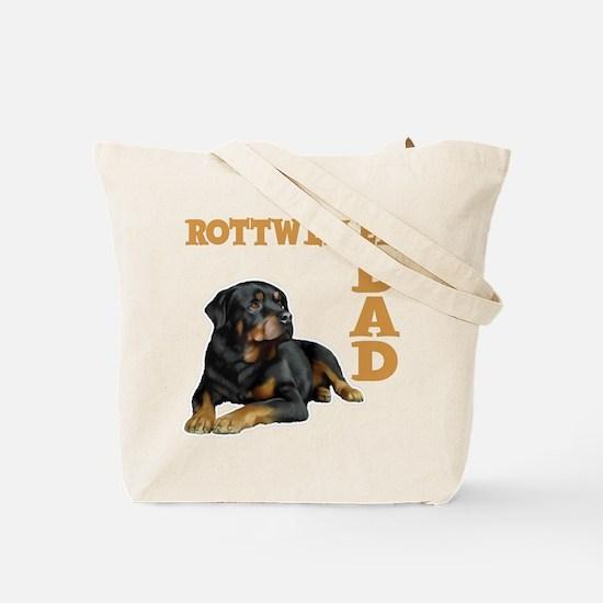 ROTTWEILER DAD (both sides) Tote Bag