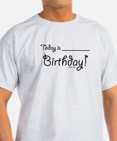 Write On Birthday Autograph T-Shirt