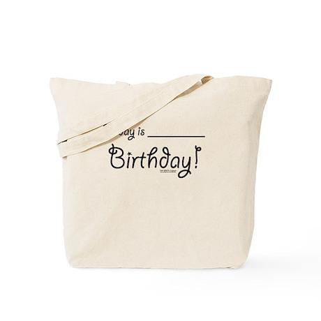 Write On Birthday Autograph Tote Bag