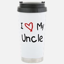 Unique I heart uncle mark Travel Mug